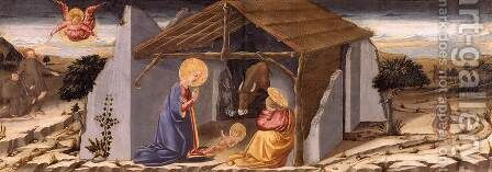 Nativity by Bicci Di Neri - Reproduction Oil Painting