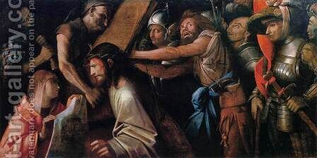 Road to Calvary with Veronica's Veil by Cariani - Reproduction Oil Painting