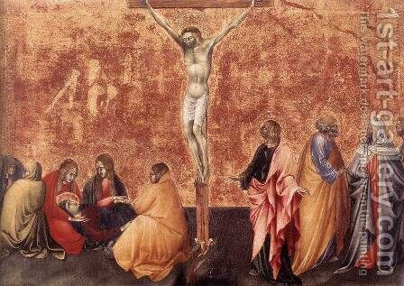 Crucifixion 3 by Giovanni di Paolo - Reproduction Oil Painting