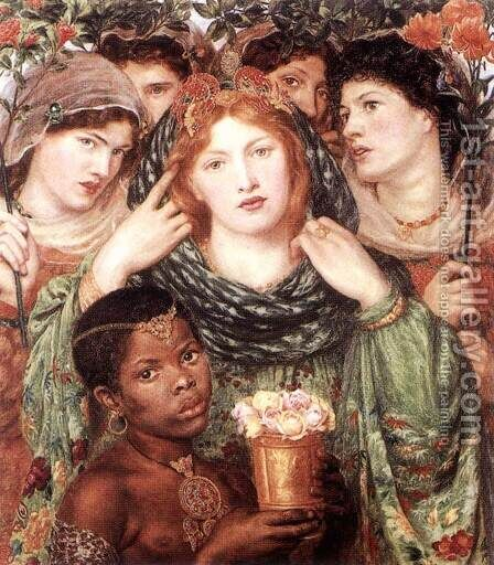 The Bride by Dante Gabriel Rossetti - Reproduction Oil Painting