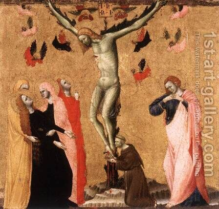 Crucifixion by Italian Unknown Masters - Reproduction Oil Painting