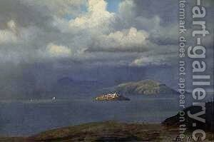 Alcatraz, San Francisco Bay by Albert Bierstadt - Reproduction Oil Painting