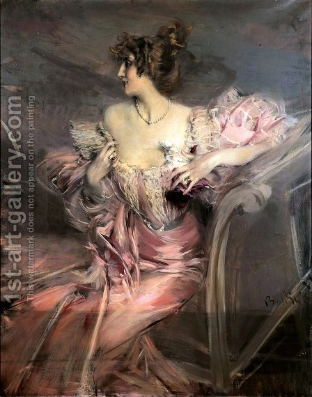 Marthe de Florian by Giovanni Boldini - Reproduction Oil Painting