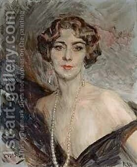 Portrait de la marquise Carla Vitelleschi by Giovanni Boldini - Reproduction Oil Painting