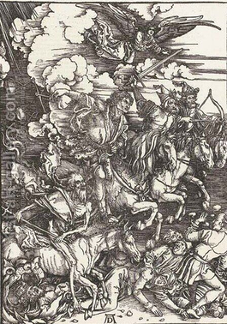 The Apocalypse by Albrecht Durer - Reproduction Oil Painting