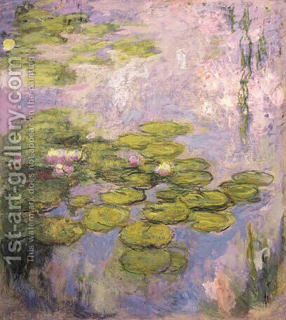 Nympheas 8 by Claude Oscar Monet - Reproduction Oil Painting