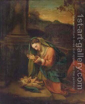 La Zingarella 4 by Correggio (Antonio Allegri) - Reproduction Oil Painting