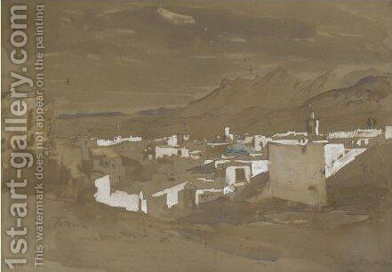 Tetouan by Hercules Brabazon Brabazon - Reproduction Oil Painting