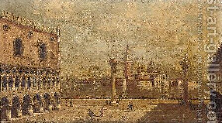 Piazza San Marco, Venice 2 by Antonietta Brandeis - Reproduction Oil Painting