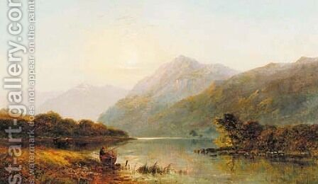 Sunrise by Alfred de Breanski - Reproduction Oil Painting