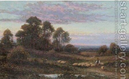 Evening, Keston by Alfred Glendening - Reproduction Oil Painting