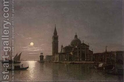 San Georgio Maggiore, Venice by Henry Pether - Reproduction Oil Painting