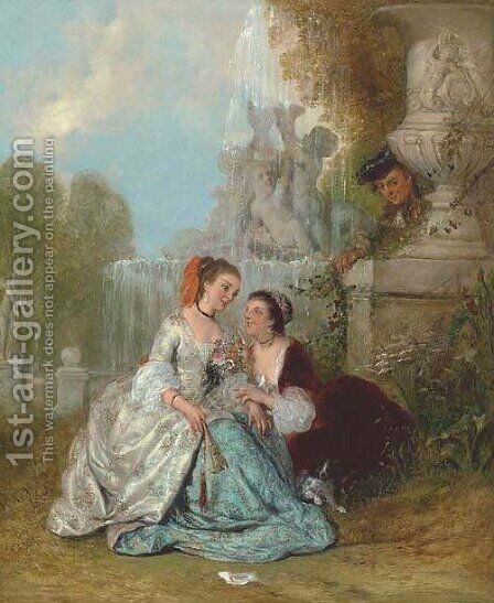 The proposal by Henry Andrews - Reproduction Oil Painting