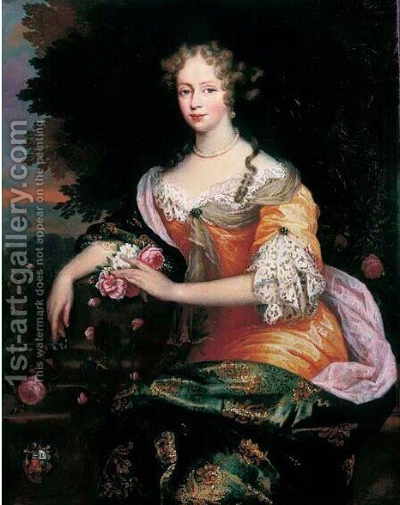 Portrait of a lady by Jan de Baen - Reproduction Oil Painting