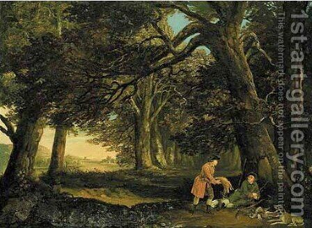 A repose afternoon by (after) Stubbs, George - Reproduction Oil Painting