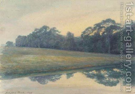 Barford Park by Clifford Henry Mecham - Reproduction Oil Painting