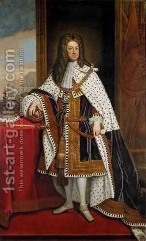 Portrait Of George I (1660-1727) 2 by (after) Kneller, Sir Godfrey - Reproduction Oil Painting