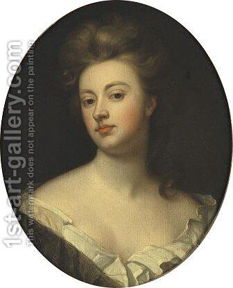 Portrait Of Sarah Jennings, Duchess Of Marlborough by (after) Kneller, Sir Godfrey - Reproduction Oil Painting