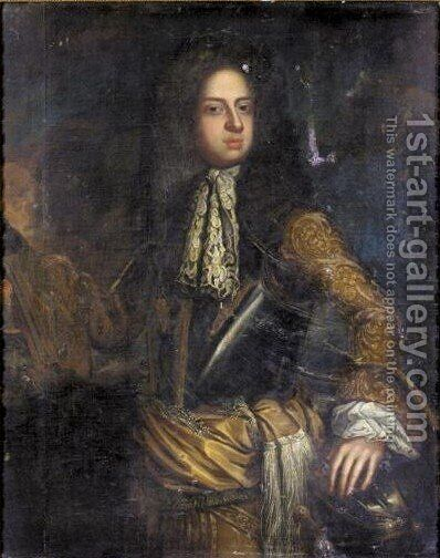 Portrait Of King George I (1660-1727) by (after) Kneller, Sir Godfrey - Reproduction Oil Painting