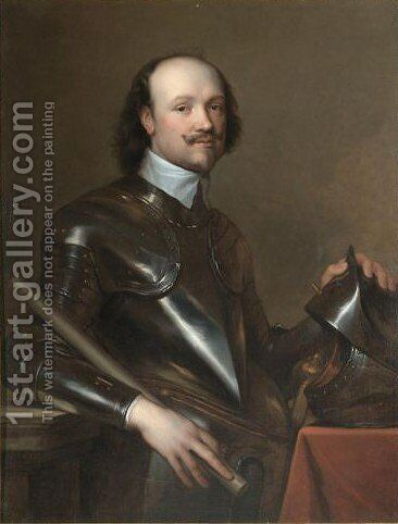 Portrait Of Sir Kenelm Digby (1603-1665) by (after) Dyck, Sir Anthony van - Reproduction Oil Painting