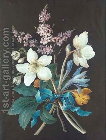 A bouquet of flowers by Barbara Regina Dietzsch - Reproduction Oil Painting