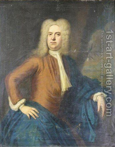 Portrait Von Thomas, 1st Baron Southwell Of Castle Mattress (ca. 1665-1720) by (after) Balthasar Denner - Reproduction Oil Painting