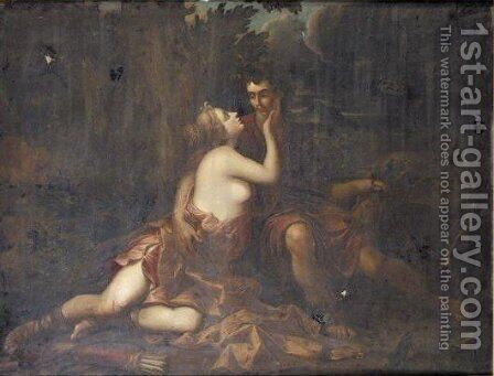 Diana And Actaeon by (after) Claude Lorrain (Gellee) - Reproduction Oil Painting