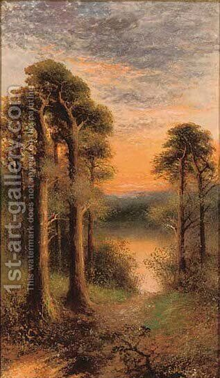 Sunset by (after) F.E. Jamieson - Reproduction Oil Painting