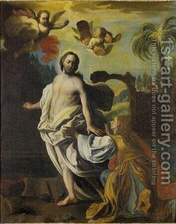 Noli Me Tangere by (after) Francesco Solimena - Reproduction Oil Painting