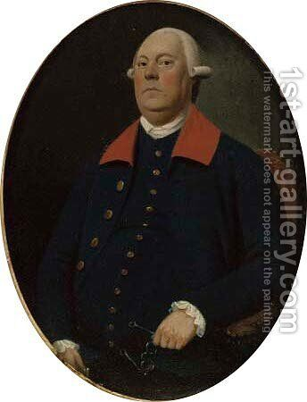 Portrait of John Dixon by (after) Francis Alleyne - Reproduction Oil Painting
