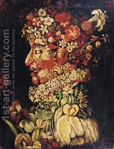 Summer by (after) Giuseppe Arcimboldo - Reproduction Oil Painting