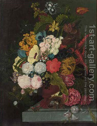Flowers 2 by (after) Jan Frans Van Dael - Reproduction Oil Painting