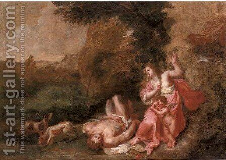 The Death of Adonis by (after) Jan Van Balen - Reproduction Oil Painting