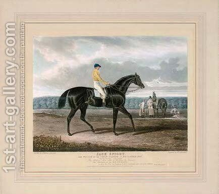 Jack Spigot, by T. Sutherland by (after) John Frederick Herring - Reproduction Oil Painting