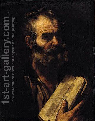 A Philosopher 2 by (after) Jusepe De Ribera - Reproduction Oil Painting