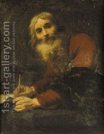 Luke The Evangelist by (after) Jusepe De Ribera - Reproduction Oil Painting