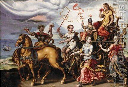 The Triumph Of Envy by (after) Maerten Van Heemskerck - Reproduction Oil Painting