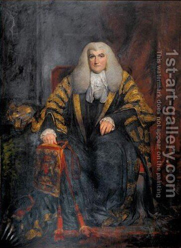 Portrait Of John Scott, 1st Earl Of Eldon by (after) Of William Owen - Reproduction Oil Painting