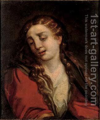 The Penitent Magdalen 2 by (after) Sir Peter Paul Rubens - Reproduction Oil Painting