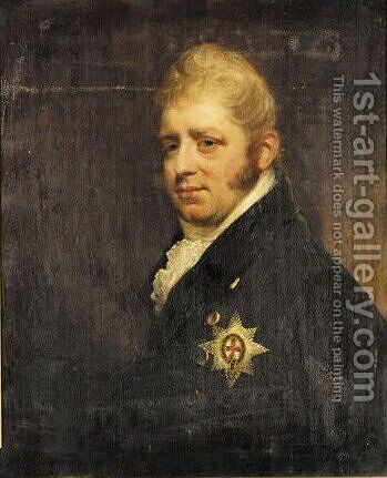 Portrait of Adolf Friedrich Herzog Von Cambridge, Siebter Sohn Konig George III., Nach Beechey by (after) Sir William Beechey - Reproduction Oil Painting