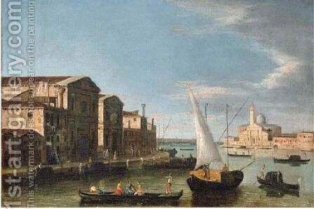 The church of San Pietro di Castello, Venice by (after) The Master Of The Langmatt Foundation View Domenichini - Reproduction Oil Painting