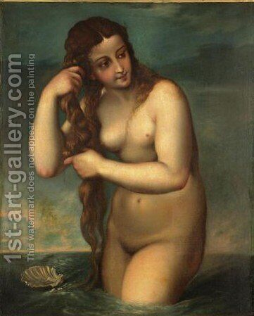 Venus by (after) Tiziano Vecellio (Titian) - Reproduction Oil Painting
