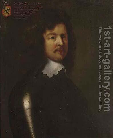 Portrait of Sir John Boys (1607-1664) by (after) William Dobson - Reproduction Oil Painting