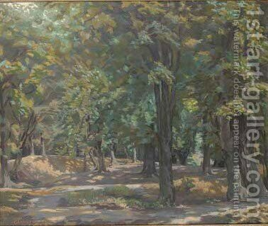 In Epping Forest by Edwin Harold Glasbey - Reproduction Oil Painting