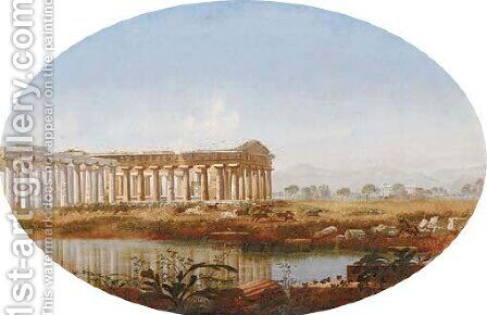 Near Paestum, Greece by Henry Murch - Reproduction Oil Painting