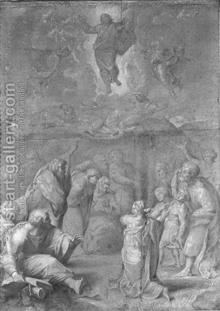 The Transfiguration, after Raphael by Italian School - Reproduction Oil Painting