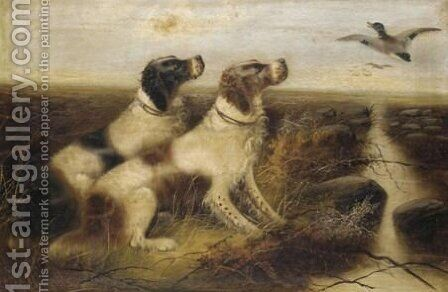 Setters In The Moors by Edward Armfield - Reproduction Oil Painting