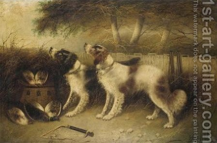 Rest After Shoot by Edward Armfield - Reproduction Oil Painting