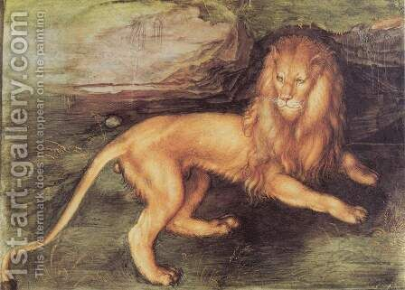Lion by Albrecht Durer - Reproduction Oil Painting