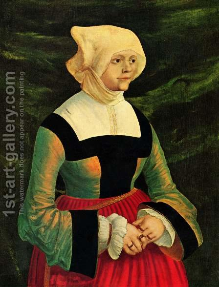 Portrait of a Woman by Albrecht Altdorfer - Reproduction Oil Painting